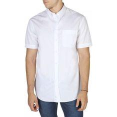 Koszula męska Emporio Armani z krótkim rękawem na lato casualowa