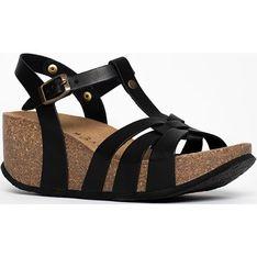 Sandały damskie BACKSUN czarny