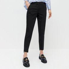 Reserved - Spodnie chino z elastyczną talią - Czarny