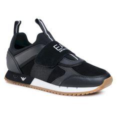 Sneakersy EA7 EMPORIO ARMANI - X8X066 XK173 N144 Black/White/Honey