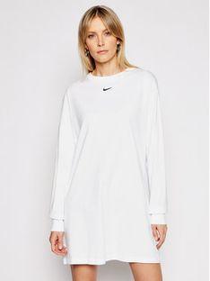 Nike Sukienka codzienna Nsw Essential CU6509 Biały Loose Fit