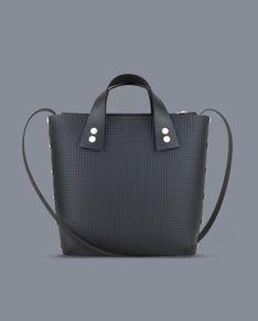 Two bag - czarna torebka