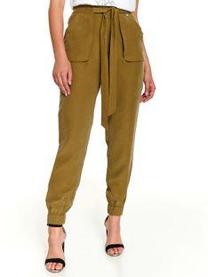 Spodnie damskie o kroju bojówek