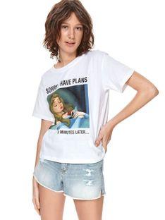 T-shirt z nadrukiem disney
