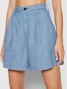 Lee Szorty jeansowe Stella Pleated L37ANBYK Niebieski Regular Fit