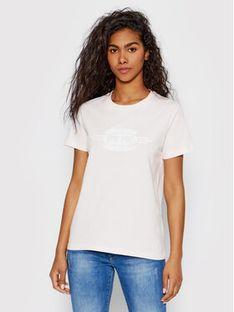 Pepe Jeans T-Shirt Agnes PL504151 Różowy Regular Fit