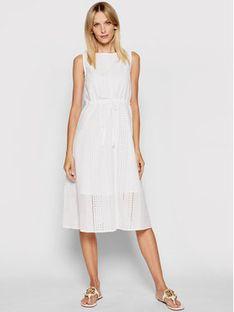Marella Sukienka letnia Neptune 32211612 Biały Regular Fit