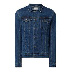 Kurtka jeansowa z dodatkiem streczu