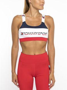 Tommy Sport Biustonosz top S10S100199 Kolorowy