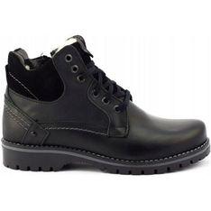 Buty zimowe męskie Komodo czarny