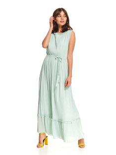 Elegancka sukienka z plisami