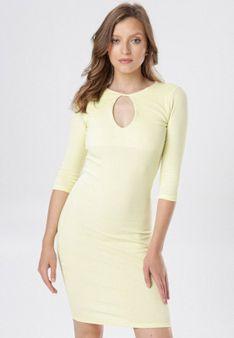 Żółta Sukienka Klelira