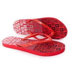 Damskie Klapki Japonki Big Star FF274A305 Czerwone