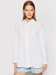 Seafolly Koszula Classic 54027-TO Biały Regular Fit