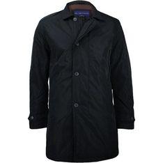 Płaszcz męski Gustaff czarny