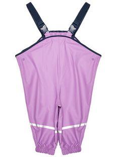 Playshoes Spodnie przeciwdeszczowe 405424 M Fioletowy Regular Fit