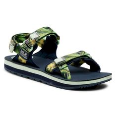 Sandały JACK WOLFSKIN - Outfresh Deluxe Sandal W 4039451 Midnight Blue All Over