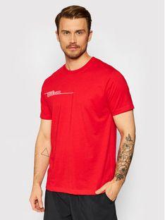 Wilson T-Shirt M Team II Tech WRA794603 Czerwony Regular Fit