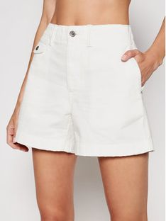 Polo Ralph Lauren Szorty jeansowe 211797213001 Biały Regular Fit