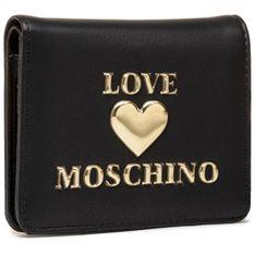Mały Portfel Damski LOVE MOSCHINO - JC5625PP1CLF0000 Nero