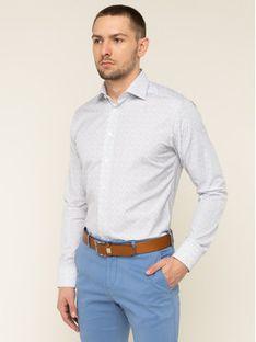 Eton Koszula 100000509 Biały Slim Fit