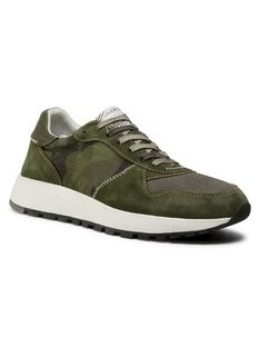 Crime London Sneakersy Extra Light Runner 11202AA3.83 Zielony