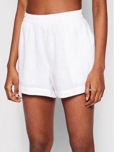 Seafolly Szorty plażowe Double Cloth 54258-SH Biały Oversize