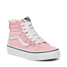 Sneakersy VANS - SK8-HI ZIP VN0A4BUX9AL1 Powder Pink/True White
