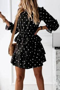 Sukienka MENARDA BLACK