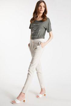 Eleganckie spodnie z chwostem