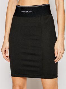 Calvin Klein Jeans Spódnica ołówkowa J20J215710 Czarny Slim Fit