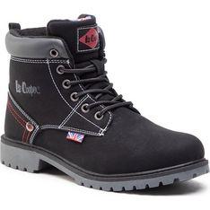 Buty zimowe dziecięce Lee Cooper sznurowane trapery