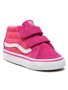 Vans Sneakersy Sk-8-Mid Reissue V VN0A5DXD34L1 Różowy