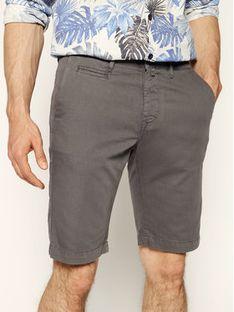 Pierre Cardin Szorty materiałowe 3465/2040 Szary Tailored Fit