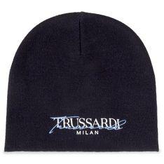 Czapka TRUSSARDI JEANS - Beanie Hat 57Z00188  Blue/White/Sky Blue