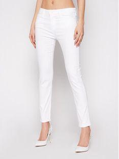 LOVE MOSCHINO Jeansy WQ38752S 3495 Biały Slim Fit