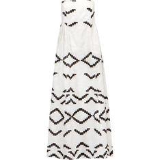 Sukienka Kori biała casual w serek bez rękawów mini luźna