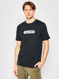 Volcom T-Shirt New Euro A3512051 Czarny Modern Fit