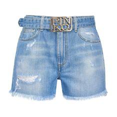 Shorts con fibbia logo Brooklyn 1J10N0 Y649