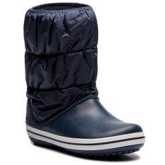 Śniegowce CROCS - Winter Puff Boot 14614 Navy/White