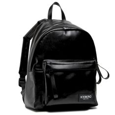 Plecak ICEBERG - 8X Borsa 21E P1P1 7200 6901 90000 Black