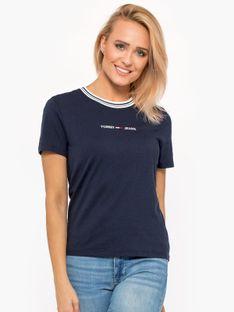 """Tommy Jeans """"Summer Logo Ringer"""" Blue"""