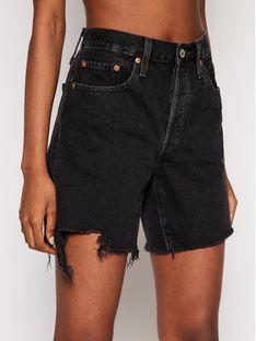 Levi's® Szorty jeansowe 501™ 85833-0016 Czarny Regular Fit