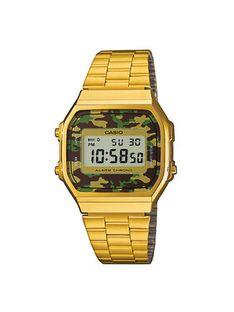 Casio Zegarek A168WEGC-3EF Złoty