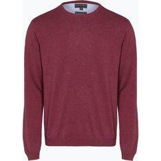 Sweter męski Finshley & Harding różowy z dzianiny