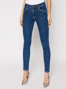 One Teaspoon Jeansy Skinny Fit Freebirds 11 Hw 23667 Granatowy Skinny Fit