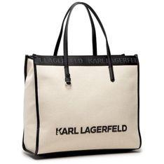 Torebka KARL LAGERFELD - 211W3020  Natural