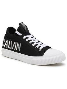 Calvin Klein Jeans Trampki Ivanco B4S0698 Czarny