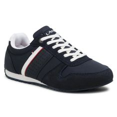Sneakersy LANETTI - MP07-01378-01 Cobalt Blue