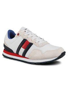 Tommy Jeans Sneakersy Lifestyle Sneaker EM0EM00492 Biały